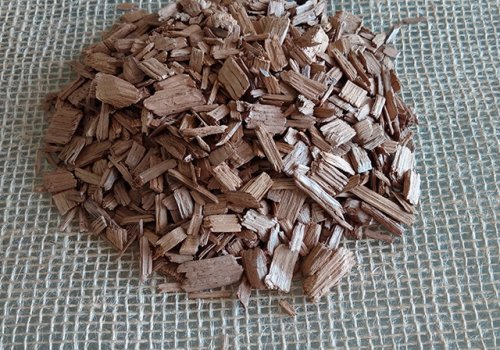 Chipsuri din lemn de stejar