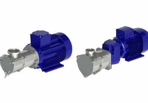 Pompa cu rotor flexibil-Unitech Seria 350 Model PL350