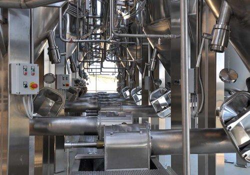 Automatizare receptie struguri, distributie mustuiala
